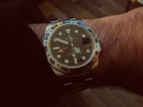 Replica Rolex Explorer II